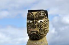 Maori γλυπτική Στοκ Εικόνες