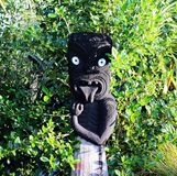 Maori είδωλο Στοκ Φωτογραφίες