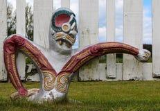 Maori πολεμιστές Στοκ Εικόνες