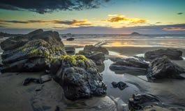 Maori Baai Stock Fotografie