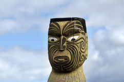 Maori carving Stock Images