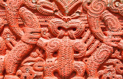 Maori Carving Images libres de droits