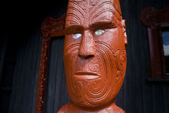 Maori carving Royalty Free Stock Photos