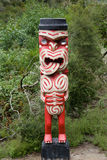 Maori carving Royalty Free Stock Photography