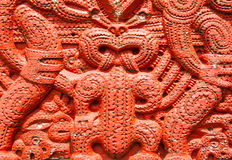 Maori Carving Stock Photography