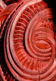 Maori carving pattern Royalty Free Stock Photo