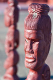 Maori carving - Rotorua, New Zealand Stock Photography