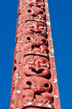 Maori carving - Rotorua, New Zealand Stock Photos