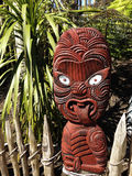 Maori carving Royalty Free Stock Photo