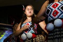 Maori Cultural Show Fotos de archivo libres de regalías
