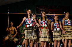 Maori Cultural Show Stock Images