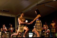Maori Cultural Show Stock Photo
