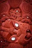 Maori- Dorf Stockfotografie
