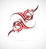 Maori ethnic ornament Stock Photo