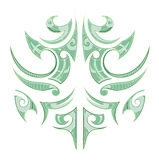 Maori ethnic tattoo Stock Photography