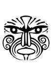 Maori- Gesicht Lizenzfreies Stockbild