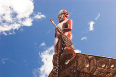 Maori- Kultur stockbild