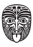 Maori mask. Royalty Free Stock Photography