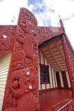 Maori Meeting House - Rotorua. This image was shot in Rotorua, New Zealand Stock Images