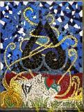 Maori Mosaic Art Royalty Free Stock Photos