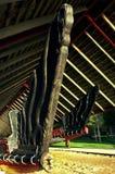maori ny traditionell waka zealand Arkivbilder