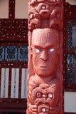 maori rotoruastaty Royaltyfri Fotografi