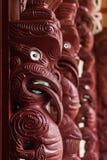 Maori- Schnitzen stockfoto