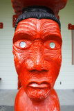Maori Sculpture Art Royalty Free Stock Image