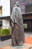 Maori Sculpture Auckland New Zealand stock images