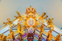 Maori Spirit hus - detalj Royaltyfria Foton
