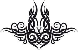Maori stammentatoegeringsontwerp stock illustratie