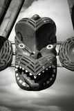 Maori style mask Stock Photography