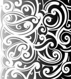 Maori style ornament. Good for sleeve tattoo Stock Image