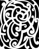 Maori style ornament. Tribal tattoo maze ornament in Maori style Stock Photo