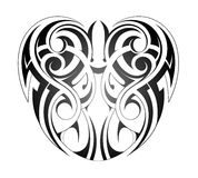 Maori style tattoo Stock Photography