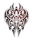 Maori style tattoo Royalty Free Stock Photo