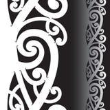 Maori tatoegeringspatroon Royalty-vrije Stock Foto