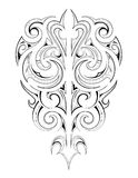 Maori tattoo Royalty Free Stock Images
