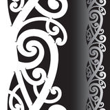 Maori tattoo pattern Royalty Free Stock Photo