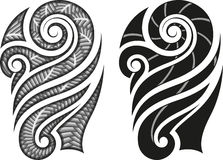Maori tattoo pattern Royalty Free Stock Photos