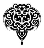 Maori tattoo shape Stock Photos
