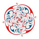 Maori tattoo shape Stock Photography