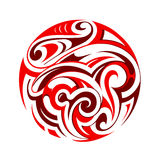 Maori tattoo Stock Photography