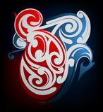 Maori tattoo Stock Photo