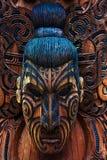 Maori Totem image stock