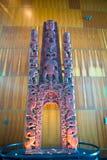 Maori Totem Fotografering för Bildbyråer