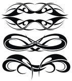 Maori tribal tattoo Stock Image