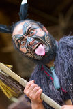 Maori tribes traditional greeting show. New Zealand. Stock Photography