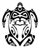 Maori turtle stock photo