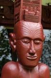 Maori wall carvings Stock Photos